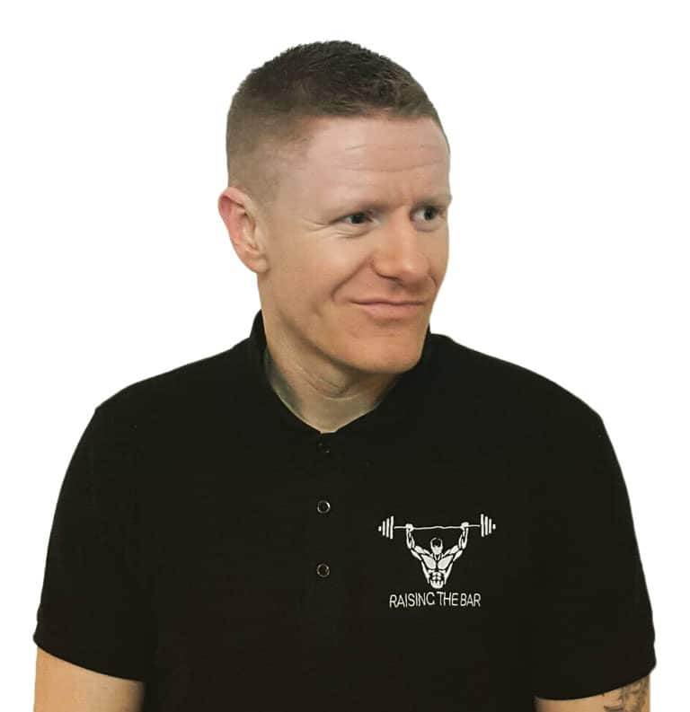Personal trainer Finbar Harte
