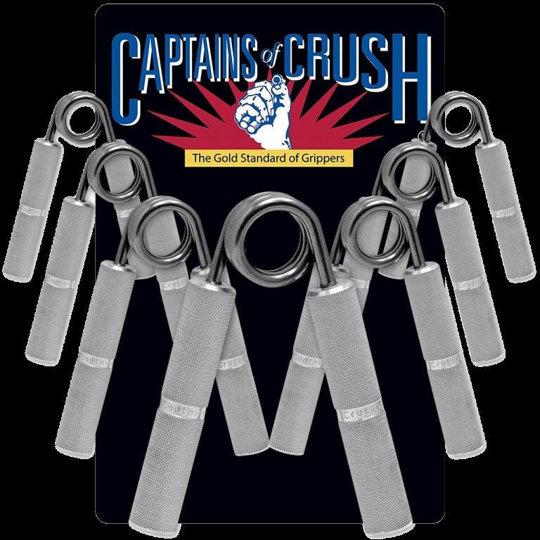 Captains of crush gripper set