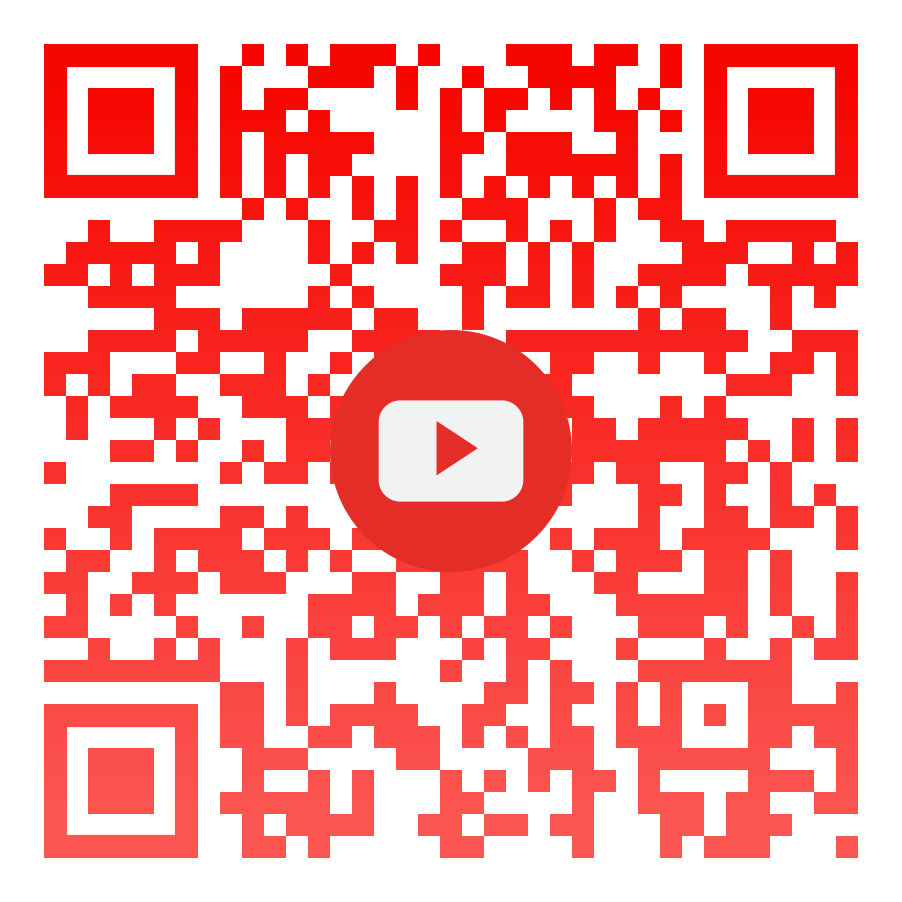 YouTube qr code linking back to the raising the bar fitness youtube page