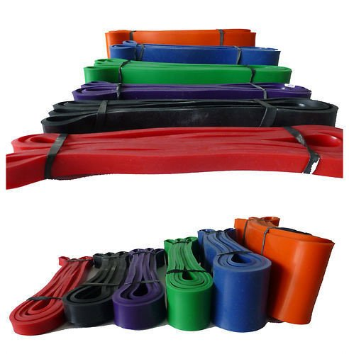 Set of fitness resistance bands